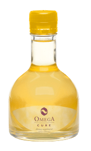 Fresh, full-spectrum Omega Cure fish oil