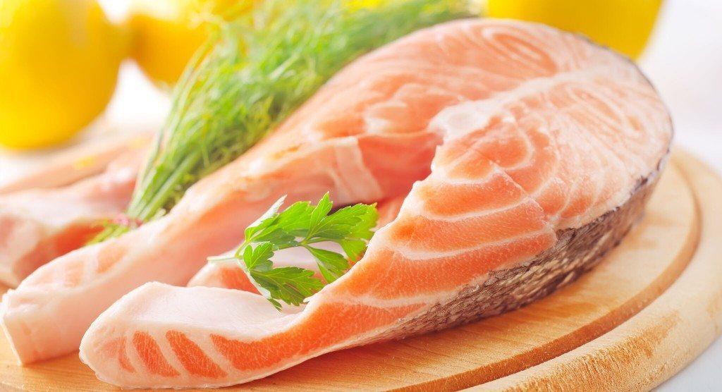 Omega-3 fatty acids fish salmon fillet