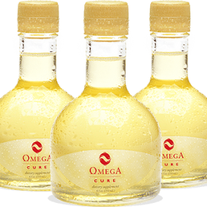 3 Bottles of Omega Cure