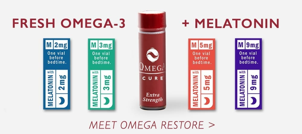 Fresh Omega-3 + Melatonin | Meet Omega Restore