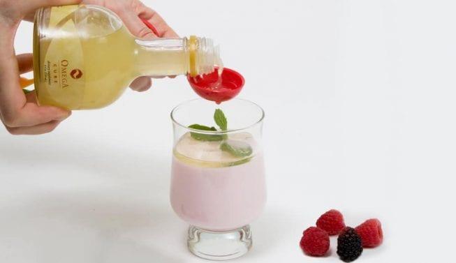 Omega Cure cod liver oil fresh full-spectrum omega-3