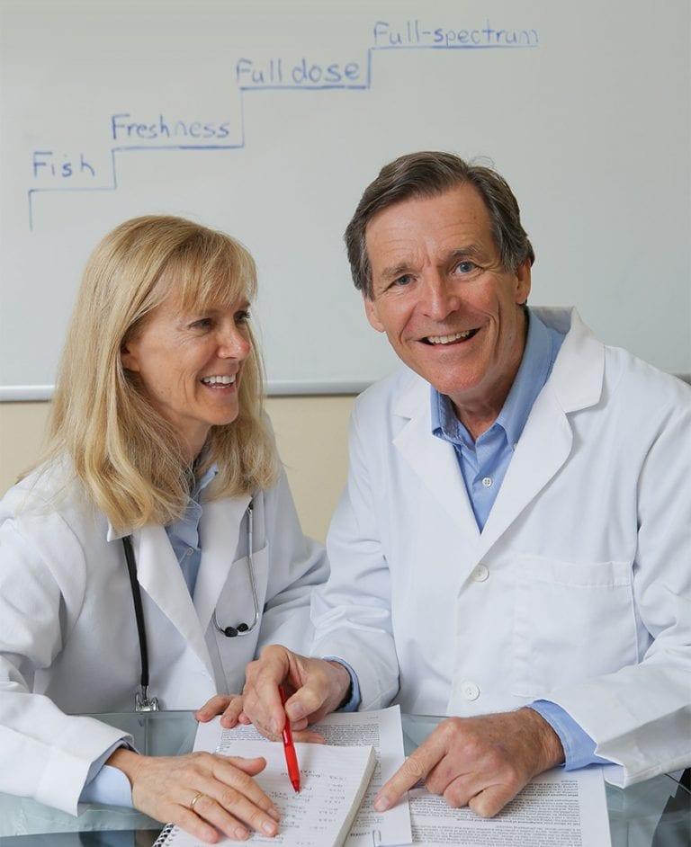 Omega3 Innovations co-founders fresh full-spectrum full dose fish oil