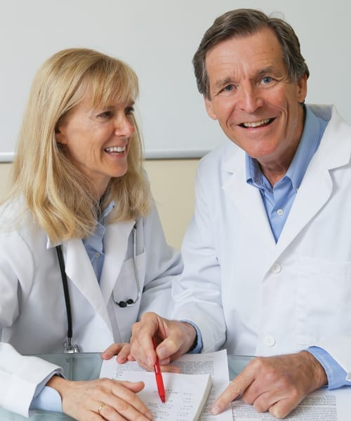 Bo Martinsen, MD, and Anne-Marie Chalmers, MD