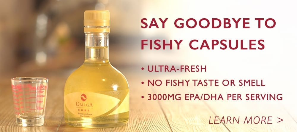 Omega Cure fish oil fresh full omega-3 dose