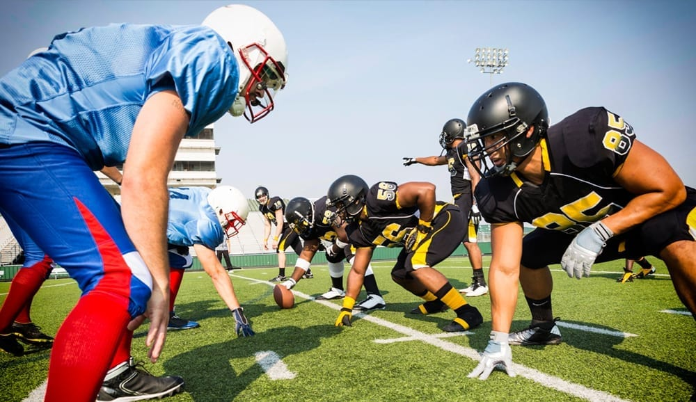 Omega-3 football analogy