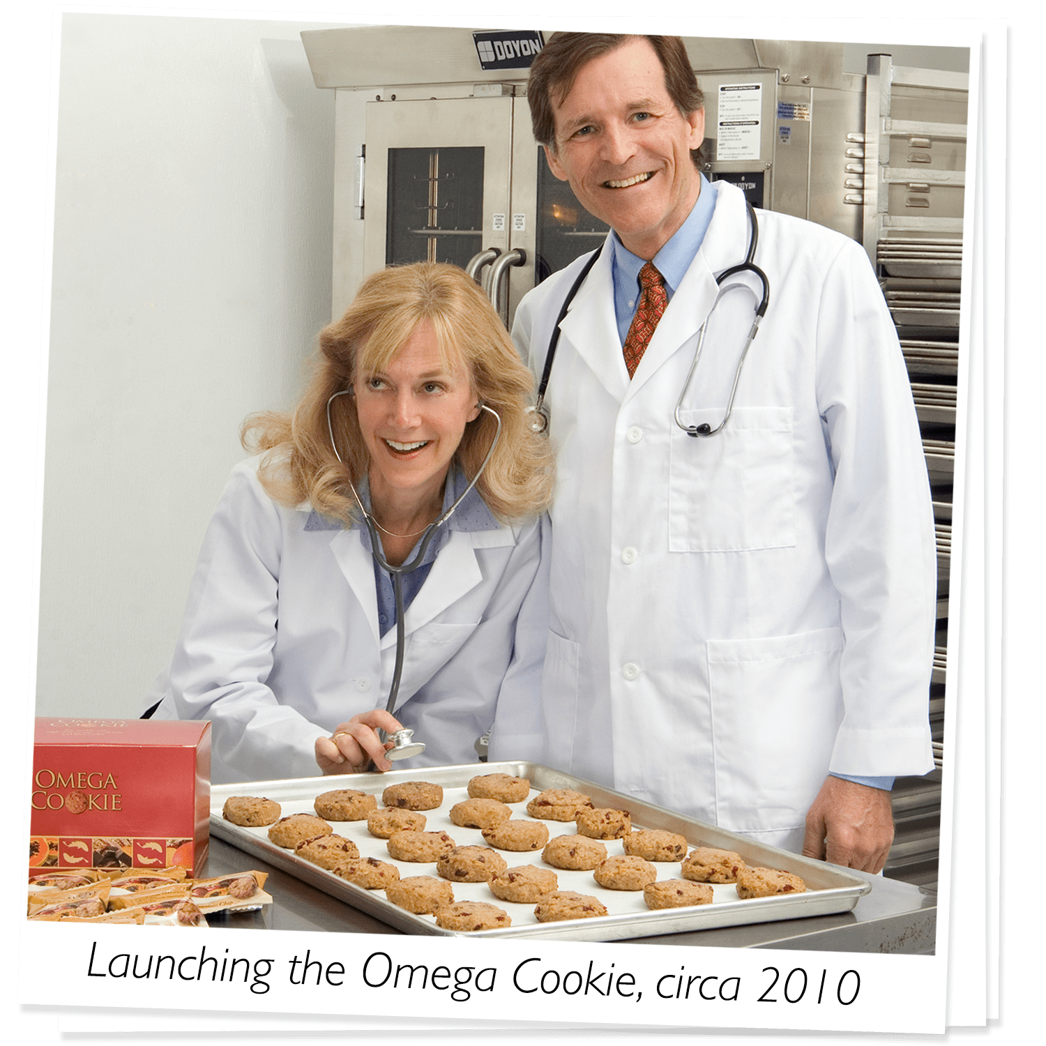 About Us | Launching the Omega Cookie