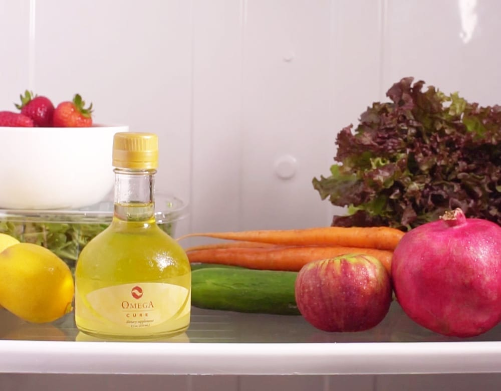 Omega Cure full-spectrum cod liver oil