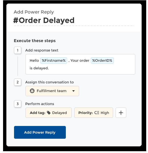 ecommerce support task examples inside helpdesk