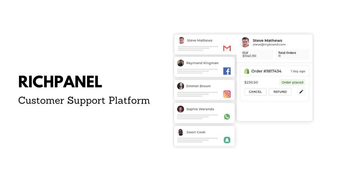 Contact us | Richpanel