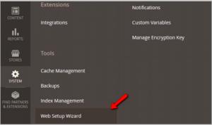 Magento Web Setup Wizard