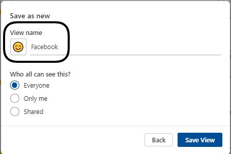 FB views in RP